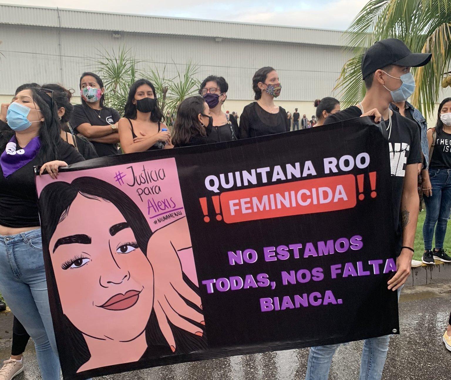 justicia para alexis manifestacion quintana roo feminicida