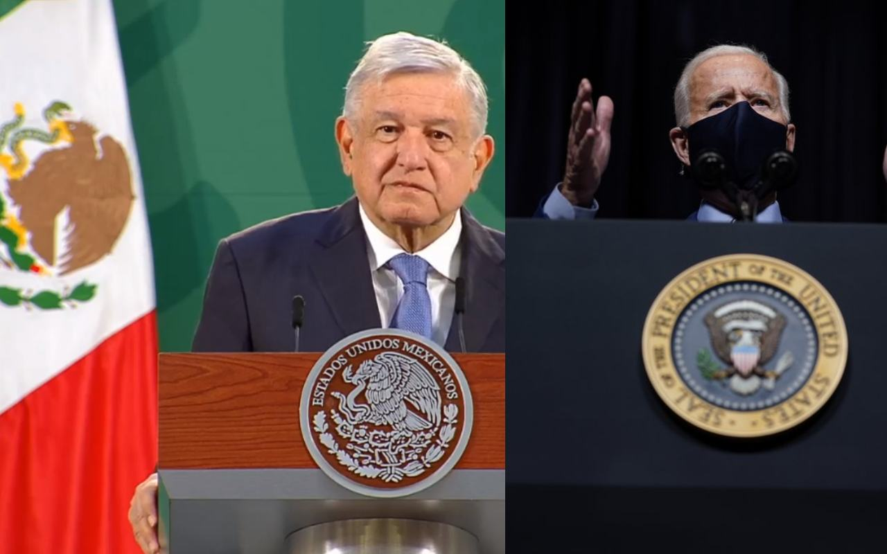 amlo presidente de mexico confia en biden, llama a esperar, por que invertir en mexico ayudará a estados unidos